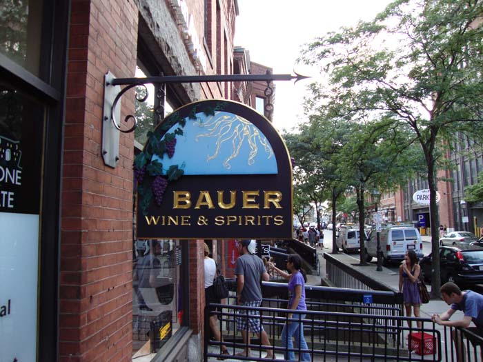 Back Bay Bauer Wine & Spirits, Newbury St.