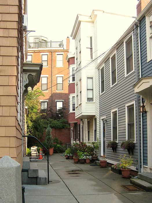 Charlestown Alley in Charlestown