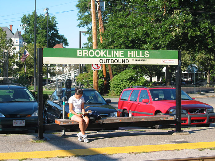 MBTA Green Line Brookline Hills Outbound
