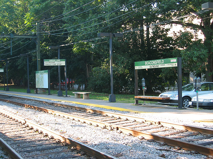 MBTA Green Line Beaconsfield Outbound