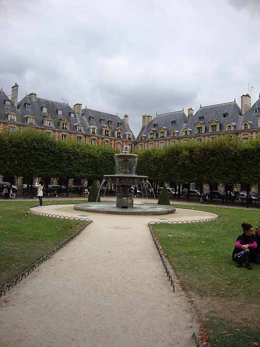 Paris, France Place des Vosges