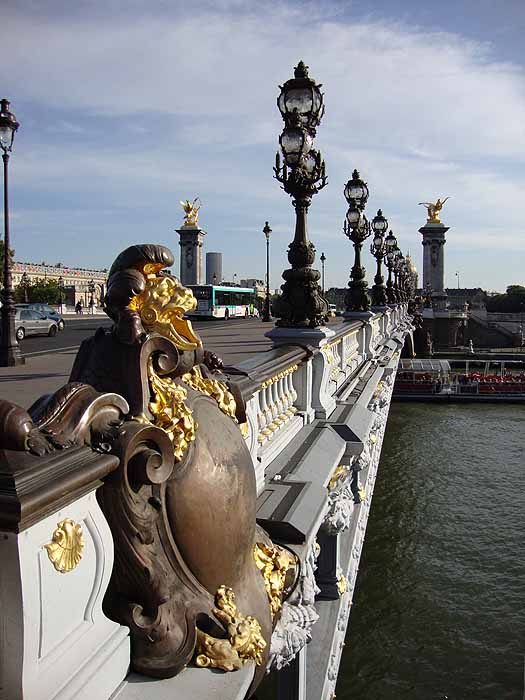 Paris, France Pont Alexandre III