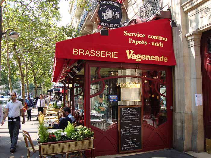 Paris, France Brasserie Vagenende, Bd. St. Germain