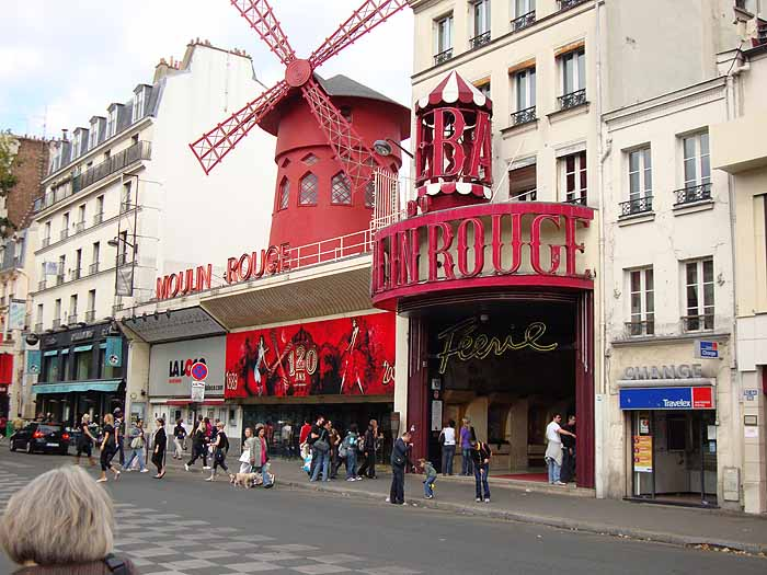 Paris, France  Le Moulin Rouge