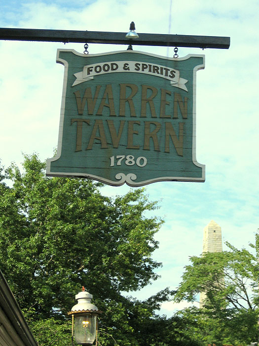 Warren Tavern, Pleasant St.