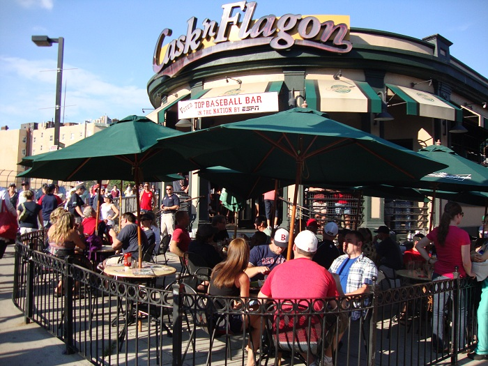 Pubs and Restaurants Fenway Cask'n Flagon, Fenway Park