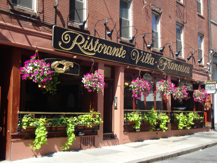 Pubs and Restaurants North End Ristorante Villa Francesca