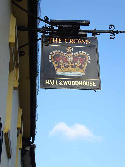 Pubs Signs, UK The Crown, Shaftesbury