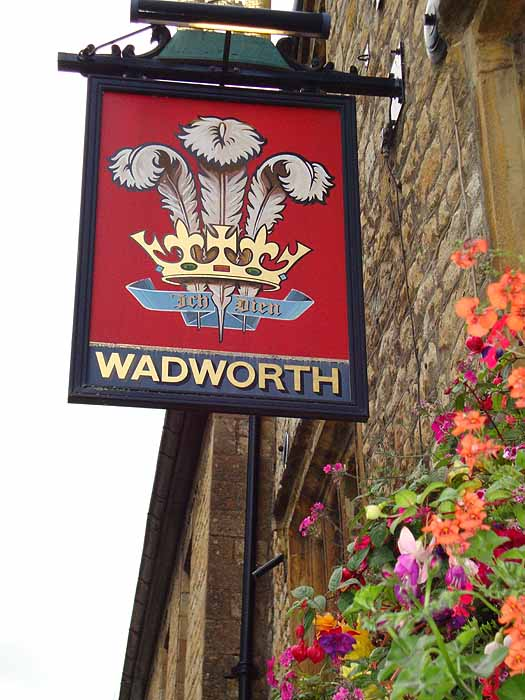 Pubs Signs, UK Wadworth, Sherbourne