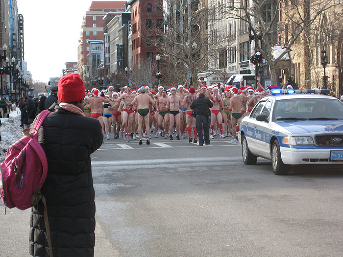 Winter Boston Annual Speedo Run