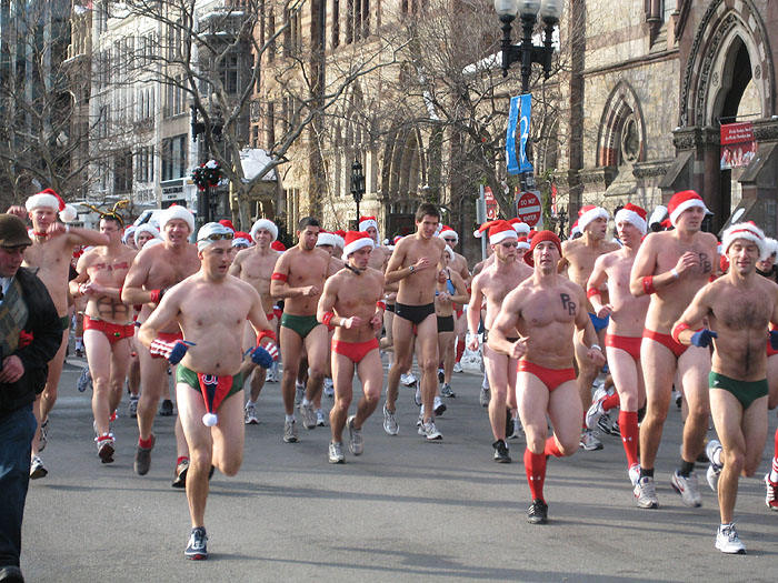 Winter Speedo Run, 20 Degrees