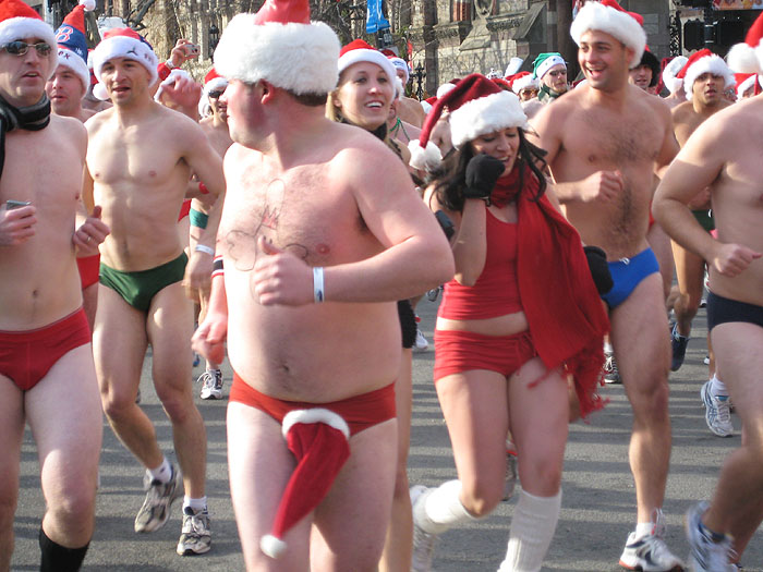 Winter Speedo Run