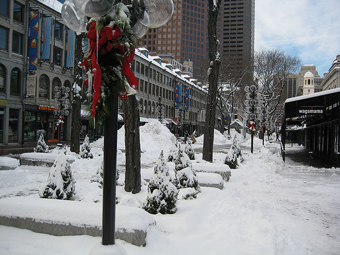 Winter Quincy Market